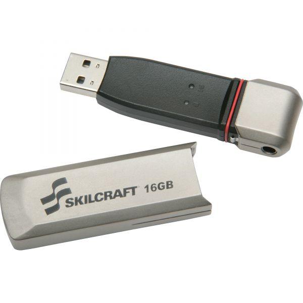 SKILCRAFT 10-key PIN-pad USB Flash Drive
