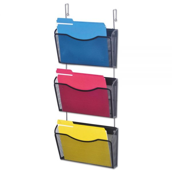 Universal One Mesh Hanging Wall File Pockets