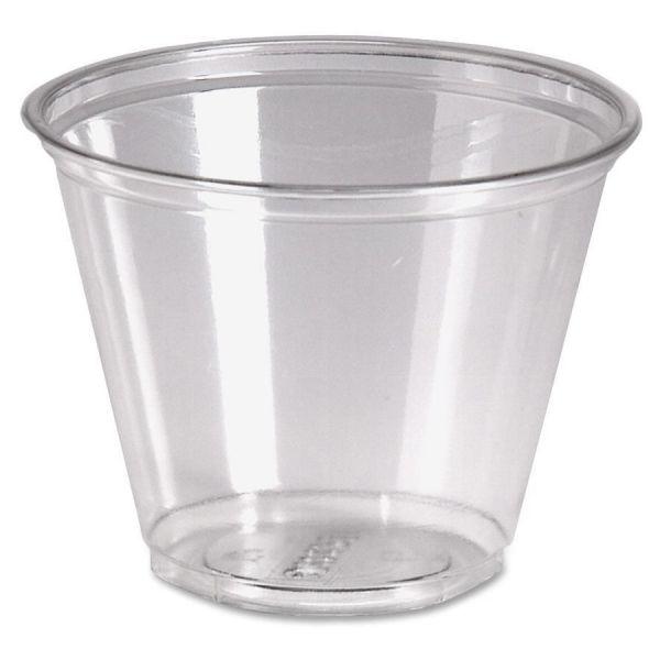 Dixie Crystal Clear 9 oz Plastic Cups