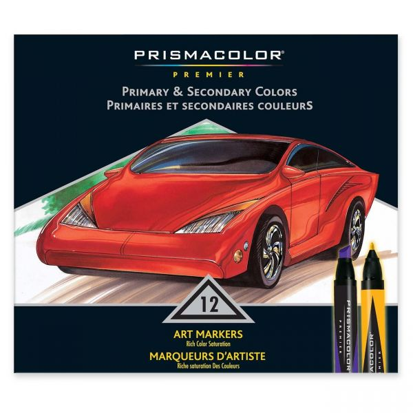 Prismacolor Premier Chisel|Fine Double Ended Art Markers