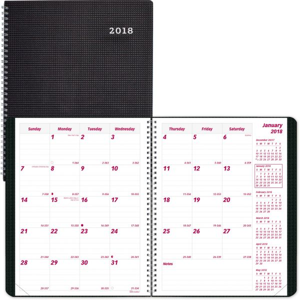 Brownline Duraflex Dated Monthly Planner