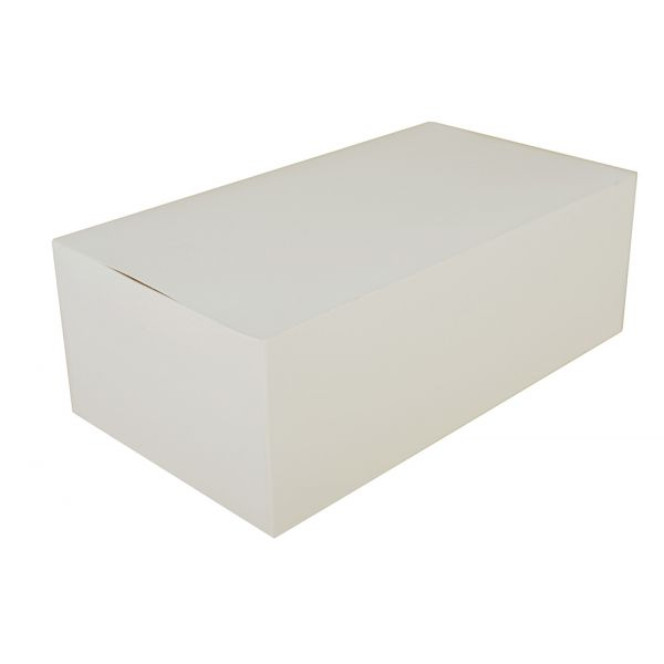 SCT White Carryout Boxes