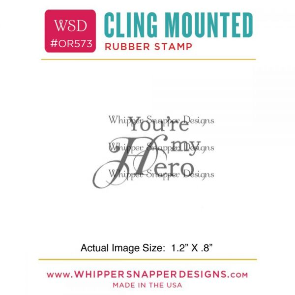 "Whipper Snapper Cling Stamp 2.5""X3.5"""