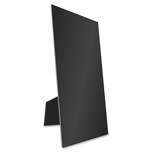 Eco Brites Easel Backed Board, 22x28, Black, 1/each