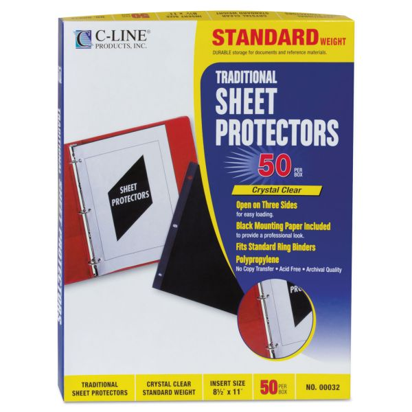 C-Line Side Loading Sheet Protectors