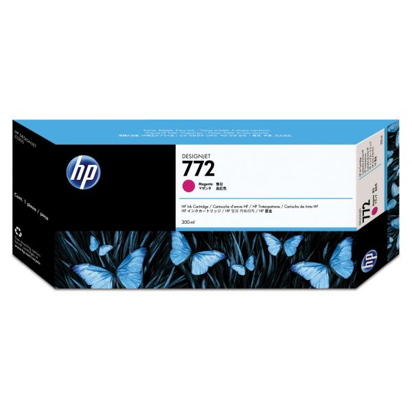 HP 772 Magenta Ink Cartridge (CN629A)