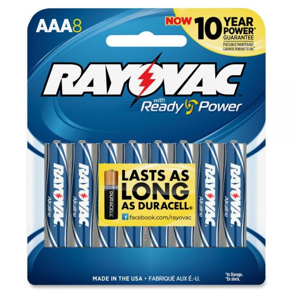 Rayovac Alkaline AAA Batteries