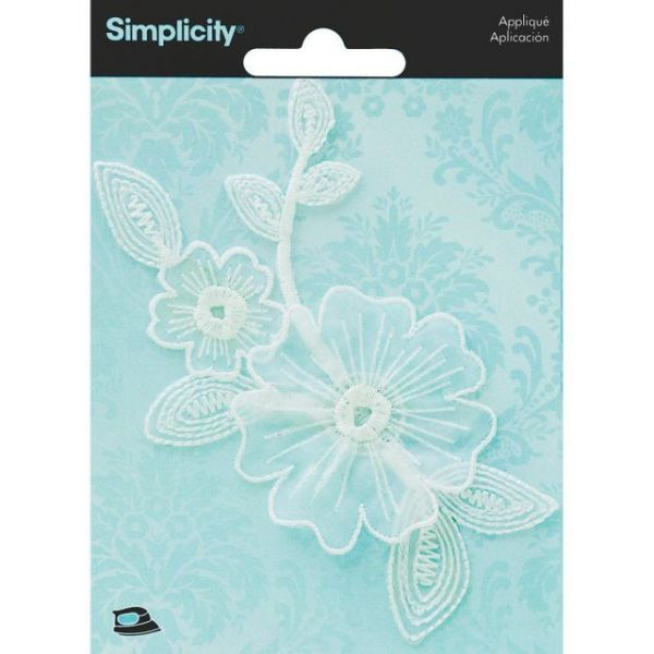 Simplicity Elegant Expression Iron-On Applique