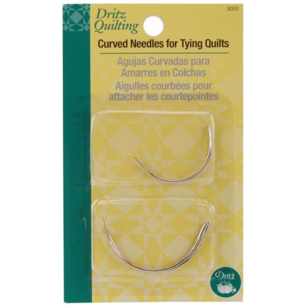 Dritz Quilting Curved Needles