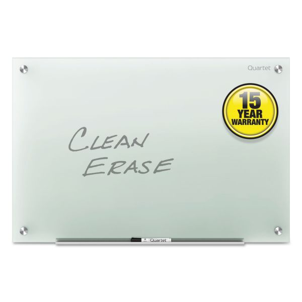 Quartet Infinity Glass Marker Board, Frosted, 96 x 48