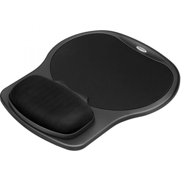 Fellowes Mouse Pad With Easy Glide Gel Wrist Rest
