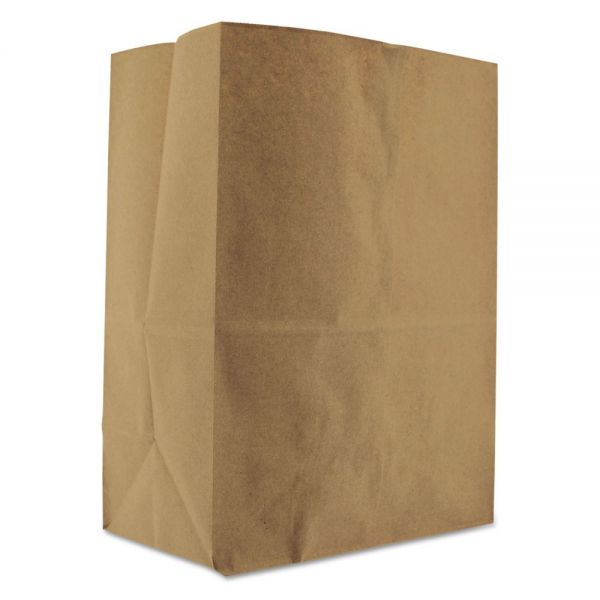 General 1/8 BBL Brown Paper Grocery Bags