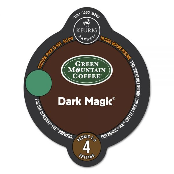 Green Mountain Coffee Dark Magic Vue Pack