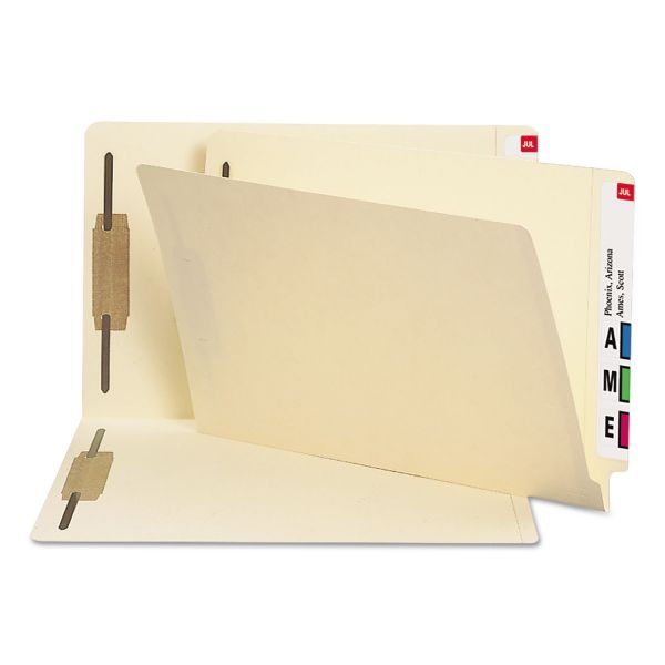 Smead Heavyweight End Tab File Folders With Fasteners