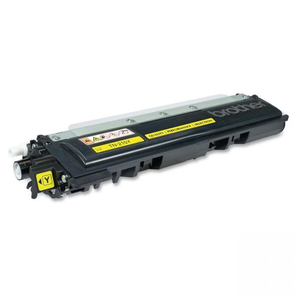 West Point Products Remanufactured Brother TN-210Y Yellow Toner Cartridge