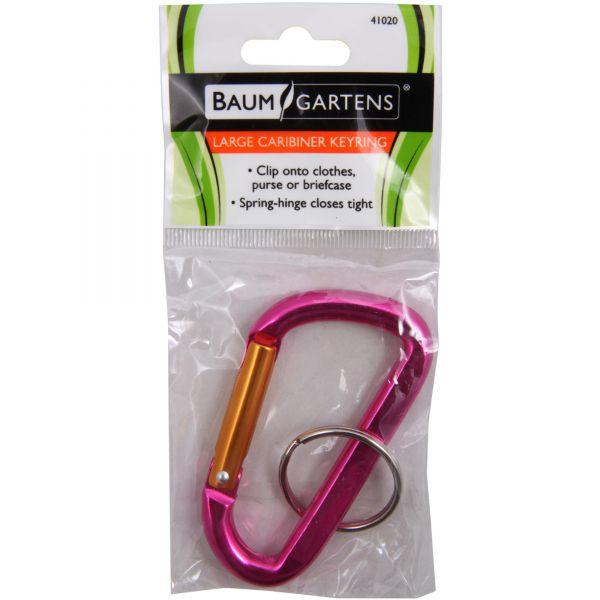 Baumgartens Carabiner Key Ring