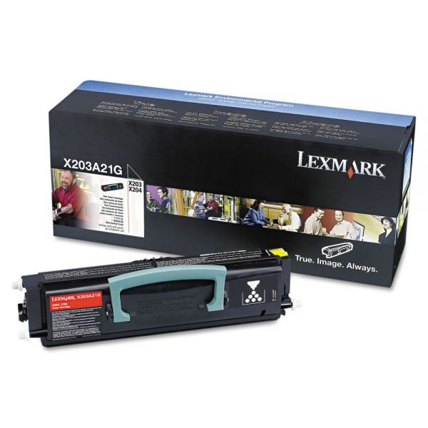 Lexmark X203A21G Black Toner Cartridge