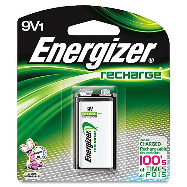 Energizer Rechargable 9V Battery