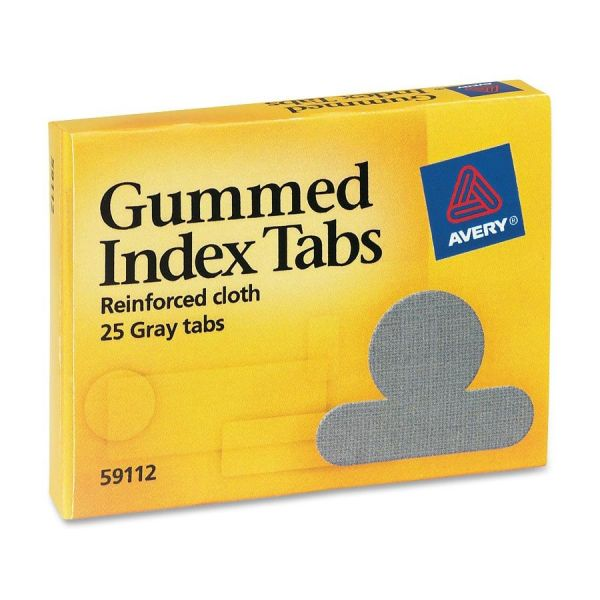Avery Gummed Round Index Tabs