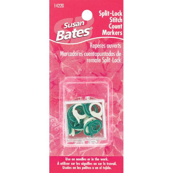 Split Lock Stitch Markers
