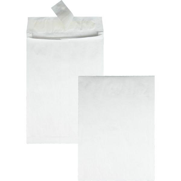 Survivor Tyvek Expansion Mailer, 10 x 13 x 1 1/2, White, 100/Carton