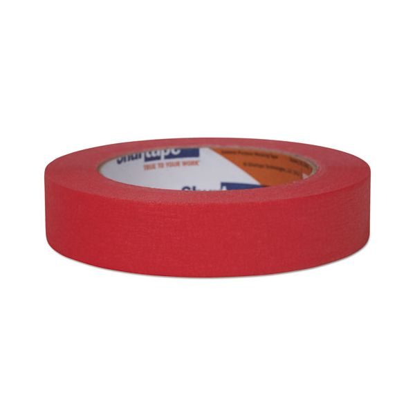 """Duck Color Masking Tape, .94"""" x 60 yds, Red"""