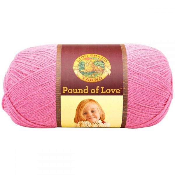 Lion Brand Pound Of Love Yarn - Bubblegum