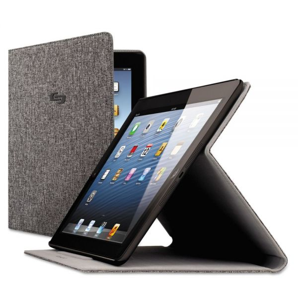Solo Avenue Slim Case for iPad Air, Gray