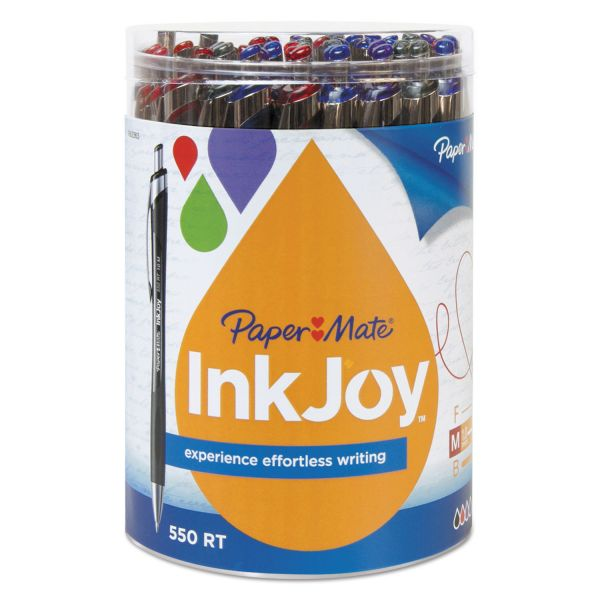 PaperMate InkJoy 550 RT Retractable Ballpoint Pens