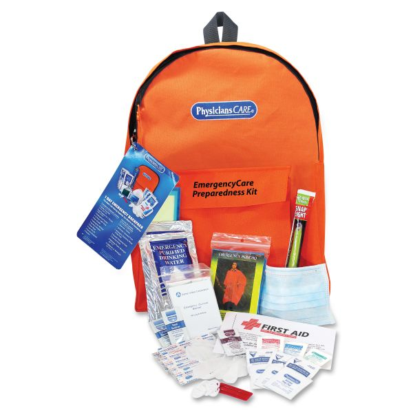 Acme United Personal Emergency First Aid Kit, Back Pack