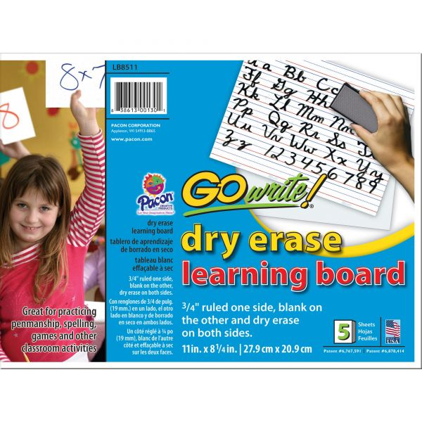 GoWrite! Dry Erase Learning Boards