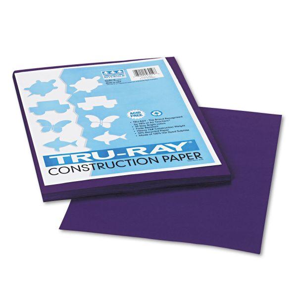 Tru-Ray Purple Construction Paper