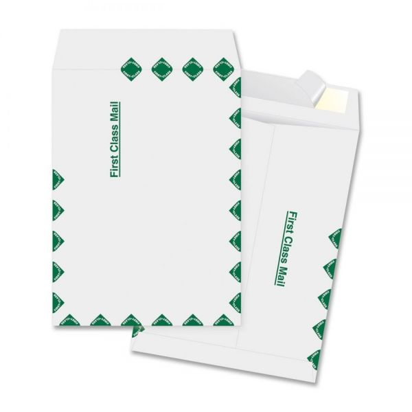 "Business Source 12"" x 15 1/2"" First Class Tyvek Envelopes"