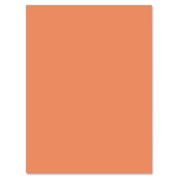 Nature Saver Orange Construction Paper