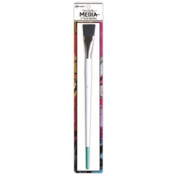 Dina Wakley Media Stiff Bristle Paint Brush
