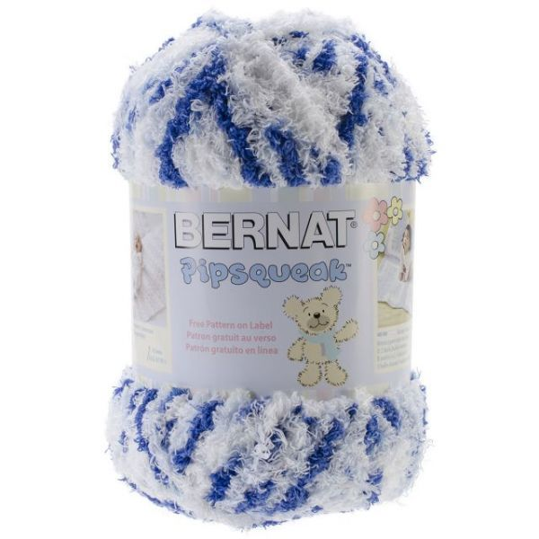 Bernat Pipsqueak Big Ball Yarn - Blue Jean Swirl