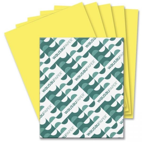 AstroBrights Colored Paper - Lift-Off Lemon
