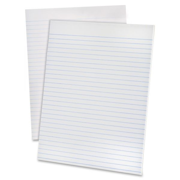 Ampad Glue Top Pads, 8 1/2 x 11, White, 50 Sheets, Dozen