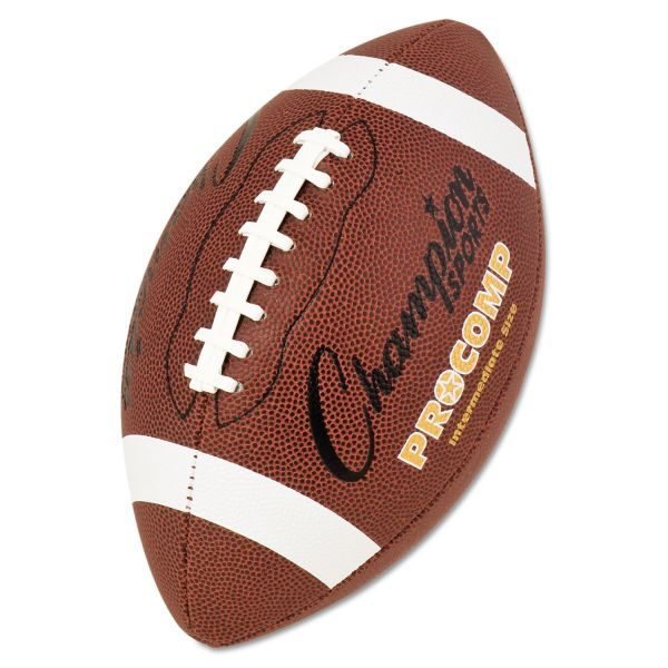 Champion Sports Pro Composite Intermediate Size Football