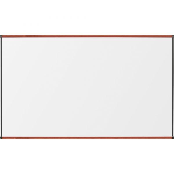 "Lorell 72"" x 48"" Superior Surface High-Pressure Laminate Dry Erase Whiteboard"