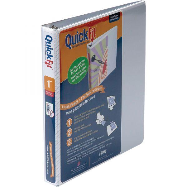 "Stride QuickFit 1"" 3-Ring View Binder"