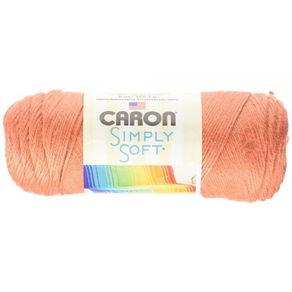 Caron Simply Soft Yarn - Persimmon