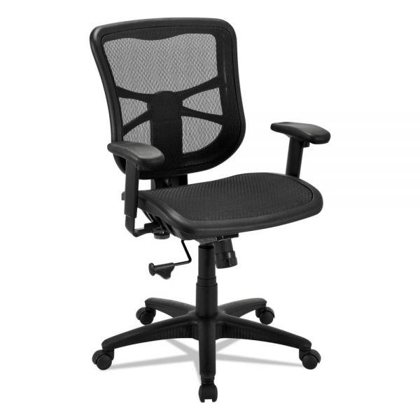 Alera Elusion Series Air Mesh Mid-Back Swivel/Tilt Office Chair