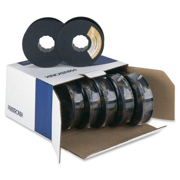 Printronix 172293001/175006001/179006001 Printer Ribbon, 90M Yield, Black, 6/box