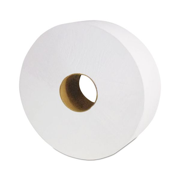 "Cascades PRO Select Jumbo Bath Tissue, 1-Ply, White, 3 1/2"" x 2000 ft, 12 Rolls/Carton"