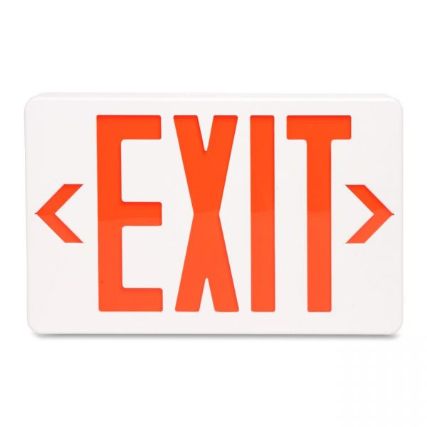 """Tatco LED """"Exit"""" Sign with Battery Back-Up"""