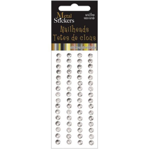 Metal Stickers Nailheads