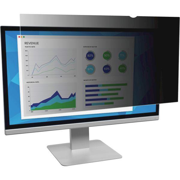 "3M PF19.0 Privacy Filter for Desktop LCD Monitor 19.0"" Black"