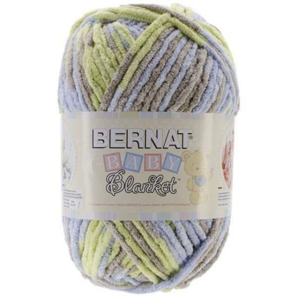 Bernat Baby Blanket Big Ball Yarn - Little Boy Dove