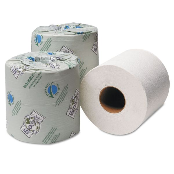 EcoSoft Green Seal 2 Ply Toilet Paper